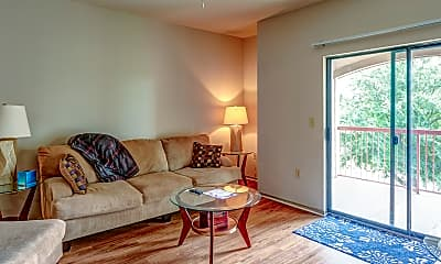 Living Room, Bradford Place Apartments, 1