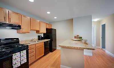 Kitchen, The Landings II Apartments (Ft Belvoir), 0