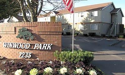 Community Signage, Winwood Park Apartments, 0