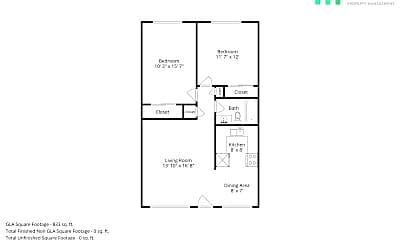 Building, 874 Burbank Dr, 2