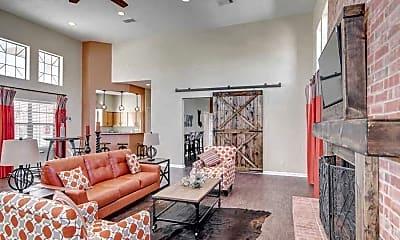 Living Room, The Village At Fox Creek, 2
