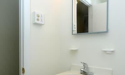 Bathroom, Boothwyn Court Apartments, 2
