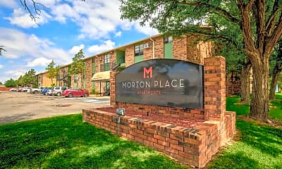 Community Signage, Morton Place, 1