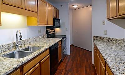 Kitchen, One Ten Grant Apartments, 0