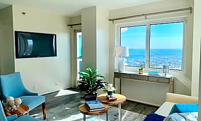 Living Room, 525 E Seaside Way 1504, 0