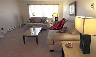 Living Room, Bellaire Apartments, 1
