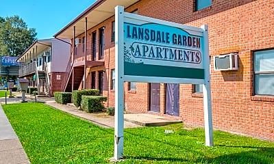 Community Signage, Lansdale Gardens, 1