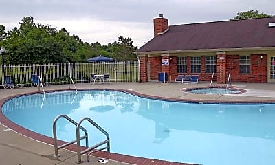 Pool, Darby Court, 1