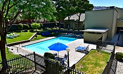 Pool, Caprock Apartment Homes, 2
