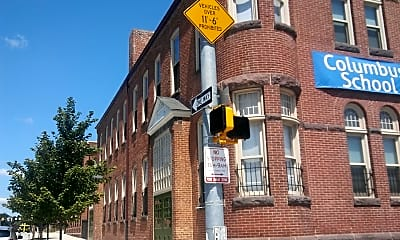 Columbus School Apartments, 0