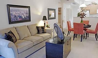 Living Room, Rocklin Ranch Apartments, 0
