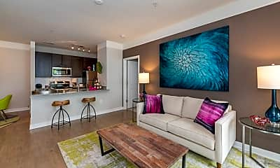 Living Room, Commonwealth at York, 1