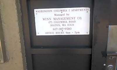Washington Columbia 1, 1