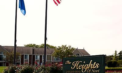 Community Signage, The Heights of Novi, 2