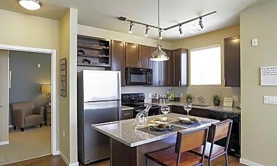 Kitchen, North Main Apartments at Steel Ranch, 1