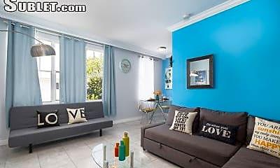 Living Room, 1619 Lenox Ave, 1