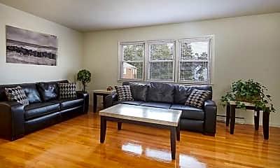 Living Room, Black Rock Gardens Apartments, 1