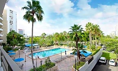 Pool, 500 Three Islands Boulevard M14, 1