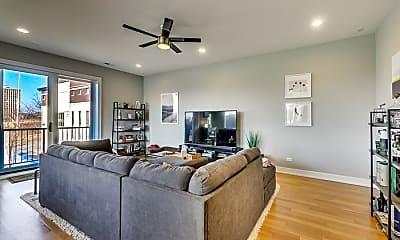 Living Room, 650 N Morgan St, 2