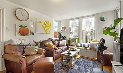 Living Room, 1625 Brown St 3, 0