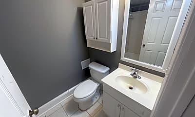 Bathroom, 7 W Biddle St, 1
