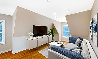 Living Room, 12 Harris Street, Unit 3, 0