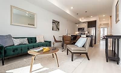 Living Room, 1229 N 27th St C, 0