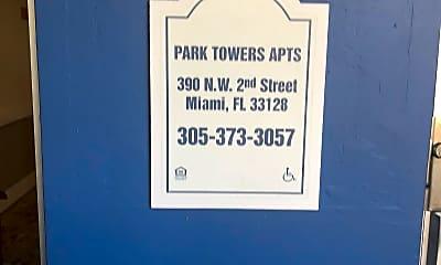 Park Tower Apartments, 1