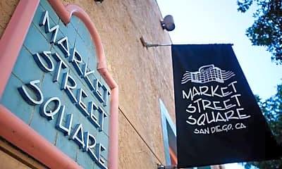 Community Signage, Market Street Square, 0
