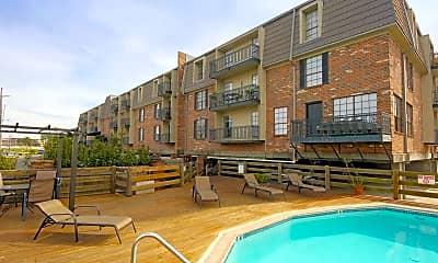 Pool, Sailboat Bay Apartments, 0