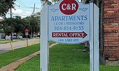 C R Apartments, 1