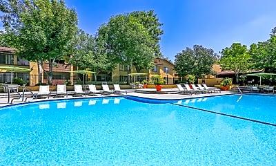 Pool, Indian Oaks Apartments, 0