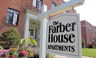 Community Signage, Farber House/La Grande Jatte, 1