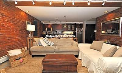 Living Room, 1760 Beacon St, 1