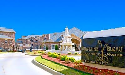 Community Signage, Fountaine Bleau Maumelle, 1