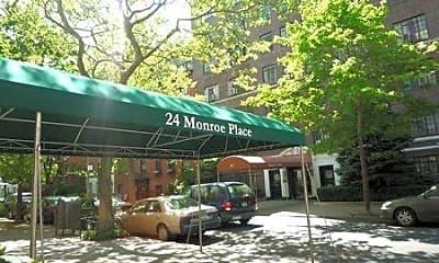 Building, 24 Monroe Place, 2