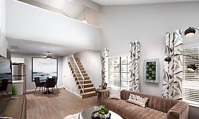 Living Room, The Palmer Residences, 1