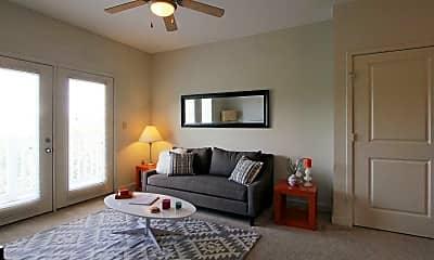Living Room, 909 Broad Street Apartments, 1