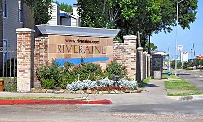 Community Signage, Riveraine, 2