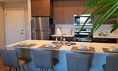 Kitchen, Fairway Flats, 1