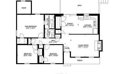 Building, 7219 Lancashire Dr, 2