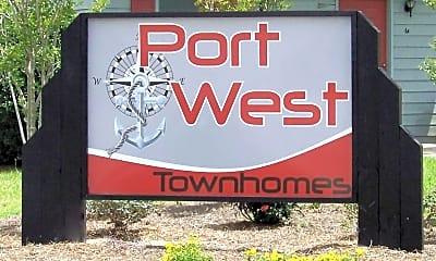 Community Signage, 13 Port West Court-Unit C, 1