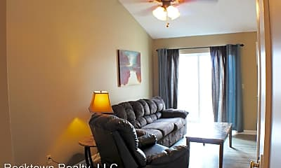 Living Room, 1348 Bradley Dr, 0