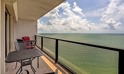 Patio / Deck, 450 S Gulfview Blvd 1702, 0