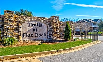 Community Signage, Trails at Flat Rock, 2