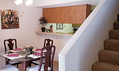 Dining Room, Boston Square Apartments, 1