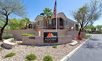 Community Signage, Adobe Ridge, 2