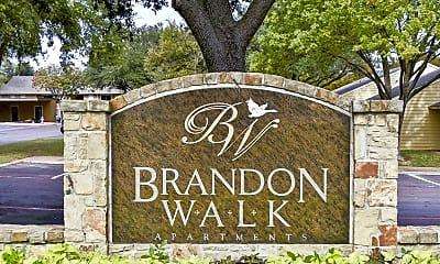 Community Signage, Brandon Walk, 2