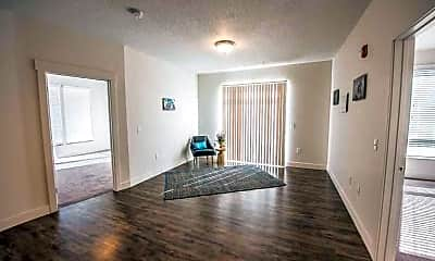 Living Room, Tower View Apartments, 1