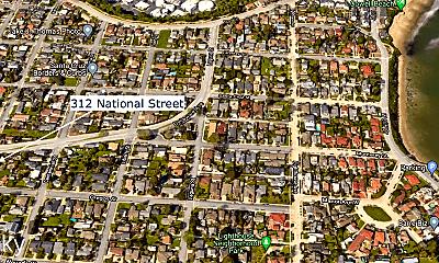 Community Signage, 312 National St, 1